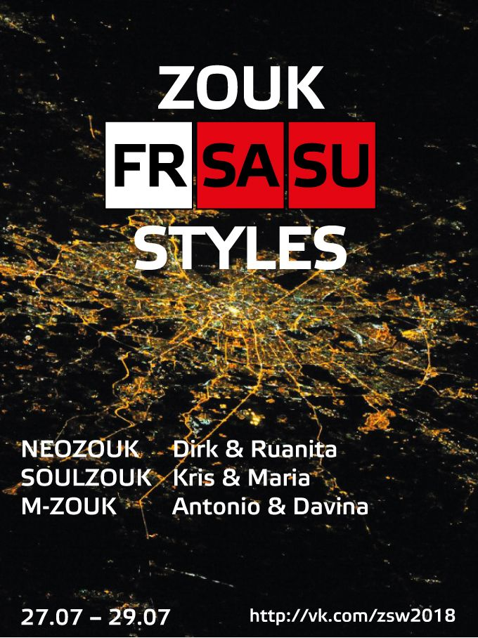 MOSCOW ZOUK STYLES WEEKEND